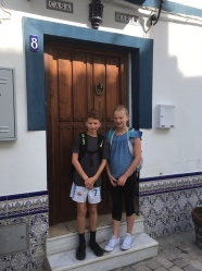 First day of 6th grade