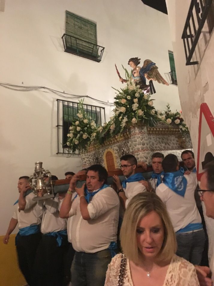 The procession of San Miguel