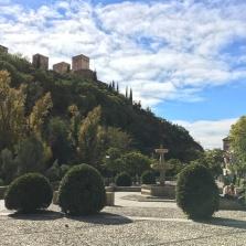 Alhambra peeking out
