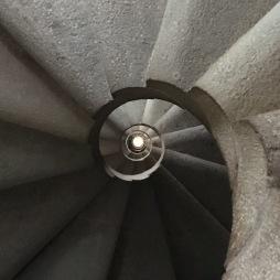Staircase in La Sagrada Familia