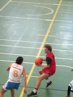 Q-Man on the court