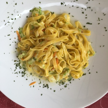 Melt-in-your-mouth pasta