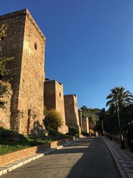 Castle in Malaga