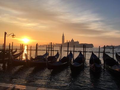 Venice at sunset