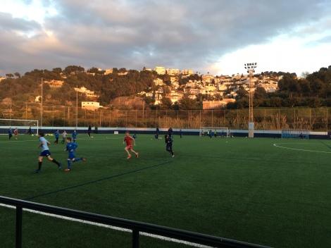 Soccer (futbal) practice
