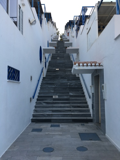 My workout stairs and homes of senior citizens!