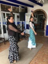 Flamenco performace