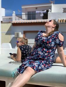 Basking in the Spanish Sun