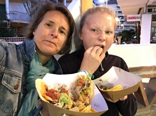 Mouths full at new taco stand