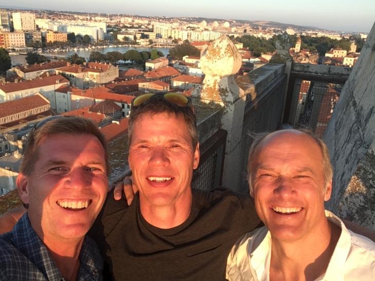 The boys in Zadar