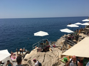 Dubrovnik's beach bar