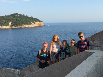 Walking the Dubrovnik city walls
