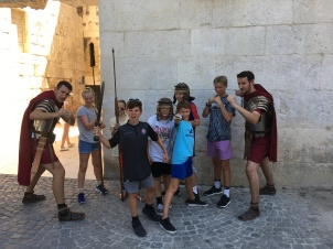 Defending the Romans in Split