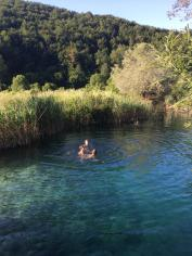 Swim hole in Korana Village