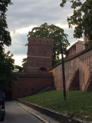 Toruń's leaning tower