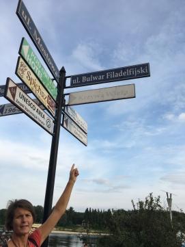 """Philadelphia Boulevard"" in Toruń"