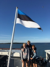 Cruising to Helsinki, Finland