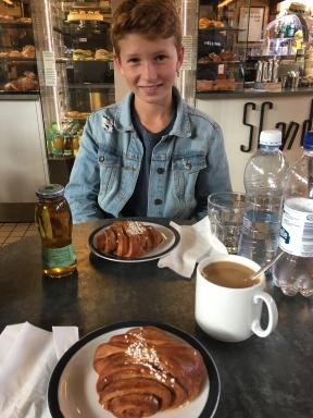 Helsinki: Fika with Davis!