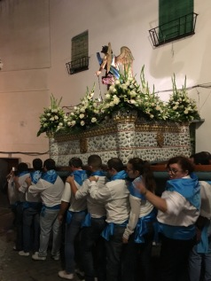 San Miguel procession