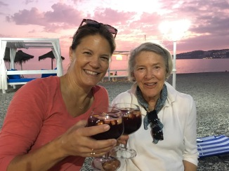Mom and Julie: these ladies love their sangrias!