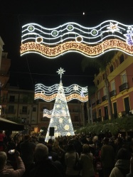 Christmas lights in Almuñécar
