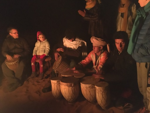 Drumming in the dunes