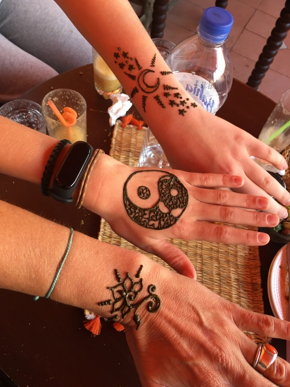 Henna in Marrakech